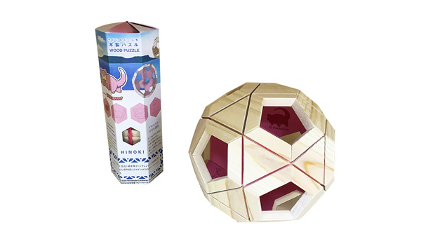 ヤドン木製パズル